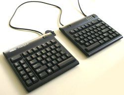 画像1: Freestyle2 Solo Keyboard for PC (20 inch separation) - Black 【キネシス フリースタイル2 ソロ Windows版 20インチ】