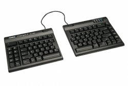 画像1: Freestyle2 Solo Keyboard for Mac (20 inch separation) - Black 【キネシス フリースタイル2 ソロ Mac版 20インチ】